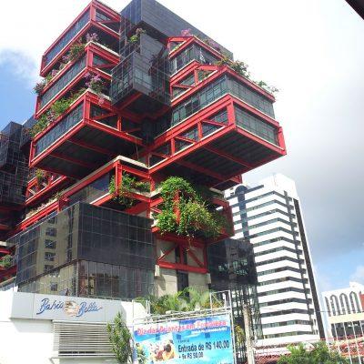 Structure Modern Architecture 3d Building Cubes