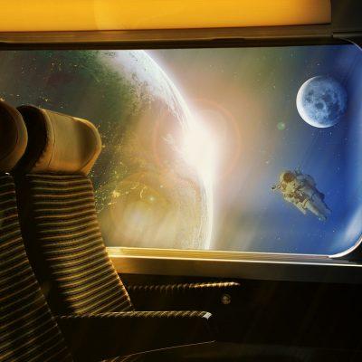Space Train The Sun Earth Transport Return Travel