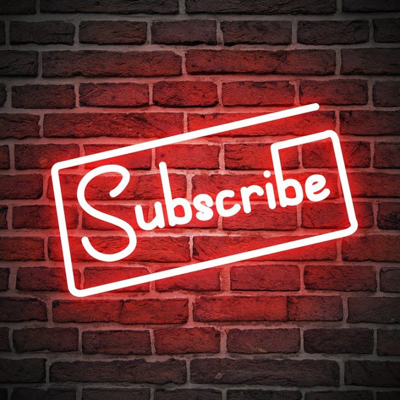 Subscribe Youtube Button Subscription Icon Video